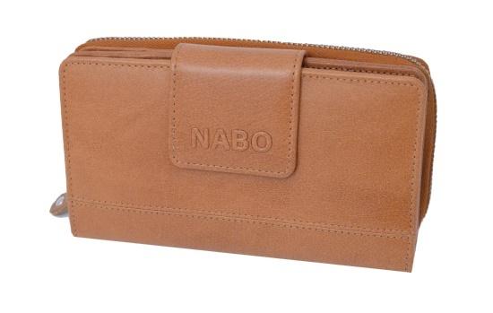 Naisten Nabo RFID nahkalompakko - 22 korttipakkaa · Musta · Ruskea . 3fd370f673