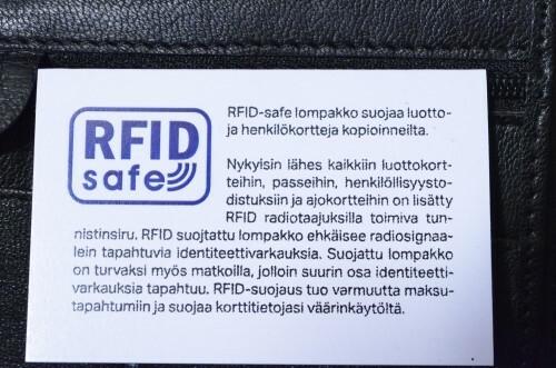 RFID suojattu nahkalompakko 5ed7fcbfa7